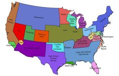 us map per wv i dont agree with this but i love these kind of maps