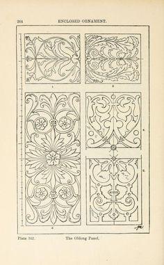 A handbook of ornament ;enclosed ornament the oblong panel pg 264