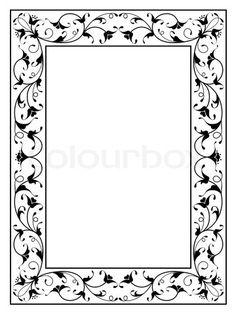 Frame Border Design, Page Borders Design, Wall Art Sets, Framed Wall Art, Picture Borders, Weaving Loom Diy, Indian Illustration, Ornament Drawing, Islamic Art Pattern
