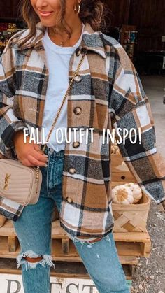 Cute Fall Outfits, Fall Winter Outfits, Autumn Winter Fashion, Fall Layered Outfits, Plaid Fall Outfits, Outfits With Red, Hipster Fall Outfits, Fall School Outfits, Fall Outfit Ideas