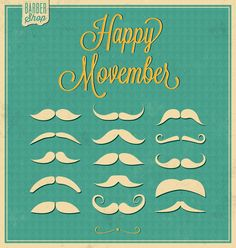 #bemantra Happy Movember ;)