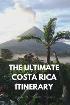 The ultimate 7 day Costa Rica Itinerary. Get to see the best of the rainforest a. - The ultimate 7 day Costa Rica Itinerary. Get to see the best of the rainforest and beach! Barbados, Jamaica, Honduras, Rio Celeste Costa Rica, Arenal Costa Rica, Belize, Cost Rica, Panama, Costa Rica Travel
