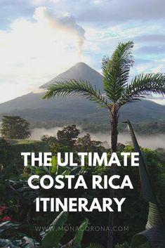 The ultimate 7 day Costa Rica Itinerary. Get to see the best of the rainforest a. - The ultimate 7 day Costa Rica Itinerary. Get to see the best of the rainforest and beach! Jamaica, Barbados, Rio Celeste Costa Rica, Arenal Costa Rica, Honduras, Belize, Cost Rica, Bahamas, Costa Rica Travel