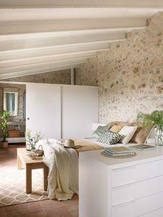 Home Staging, Home Interior Design, Interior Decorating, Mini Loft, Italian Home, Cottage Living Rooms, Bedroom Color Schemes, Minimalist Living, Home Bedroom