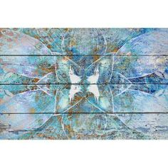 Marmont Hill Abstract 4788-2 inch by Irena Orlov Painting Print on Canvas, Multicolor