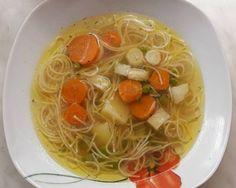 Japchae, Spaghetti, Cooking, Ethnic Recipes, Soups, Dios, Kitchen, Soup, Noodle