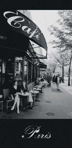 Search Paris Cafe Posters, Art Prints, and Canvas Wall Art. Barewalls provides art prints of over 33 Million images. Cafe Posters, Parisian Cafe, I Love Paris, Paris France, Places To Go, Travel Destinations, Beautiful Places, Around The Worlds, Adventure