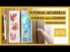 Como pintar HOJAS de OTOÑO en ACUARELA fácil - Tutorial acuarela paso a paso - YouTube Book Markers, Guache, Scrap, Youtube, Lettering, Watercolors, Frame, Books, Painting