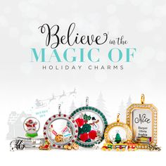 Discover new holiday charms from the Origami Owl Winter Collection! Click to view all of the exclusive new pieces! Pin for later!