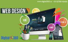 Get incredible #website made for your business & see the boom in growth!   Consult #Digital360 for effective #Digital Marketing services such as for #SEO, #SMO, #PPC, #Web & #App Solutions at +91 92788 49499.