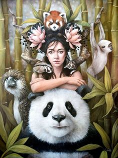 Animals By Sophie Wilkins Art And Illustration, Fantasy Kunst, Fantasy Art, Oil Painting App, Painting Art, Arte Indie, Art Visionnaire, Arte Fashion, Realism Artists