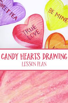 Valentine's Day Art Project - Candy Heart Art with Faber-Castell Oil Pastels A fun and colorful Valentine's Day Art Project using Faber-Castell Oil Pastels. Kids can create adorable Candy Hearts with personalized messages for Valentine's Day.