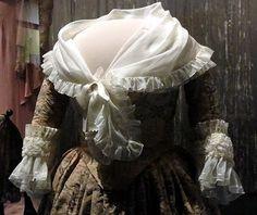 Martha Washington wore this silk taffeta gown in the early 1780s