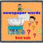 newspaper words   There are 35 newspaper words with their meaning. Just print, cut and laminate.  Please give me a very kind comment for improving,...