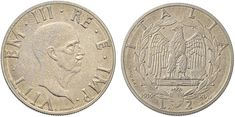 NumisBids: Nomisma Spa Auction 50, Lot 474 : Vittorio Emanuele III (1900-1946) 2 Lire 1939 Prova – P.P. 253 AC...