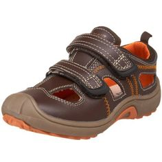 Vincent Toddler/Little Kid Elton Sporty Sandal Vincent. $24.73. Made in China. Rubber sole. Wrapped outsole for additional protection^Breathable leather linings. leather