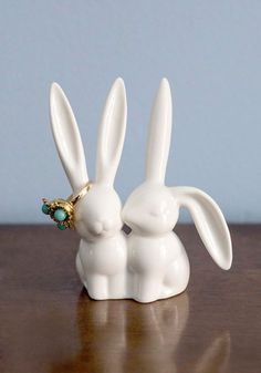 Hare and Now Ring Holder, @ModCloth