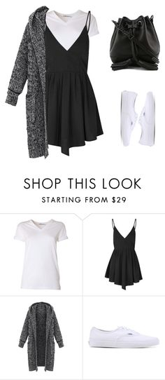 """""""симплуорк"""" by ergulso ❤ liked on Polyvore featuring beauty, T By Alexander Wang, Glamorous, Vans and Rebecca Minkoff"""
