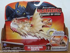 How to Train Your Dragon Defenders of Berk Chomping Teeth Attack Screaming Death