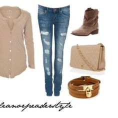 Eleanor Calder style. Outfit. Colors. Boots.