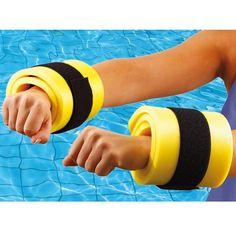 Bracelets et chevilles en mousse - Accessoire Aquagym