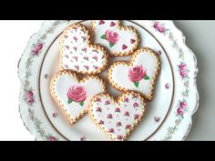 Here's what you'll need to make these rose cookies for Valentine's Day: Roll out cookie recipe (use your favorite or get mine in the tutorial shop: http://bi...