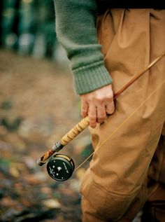 A Bill Oyster bamboo fly rod on Georgia's Soque River  Photo: Andy Anderson