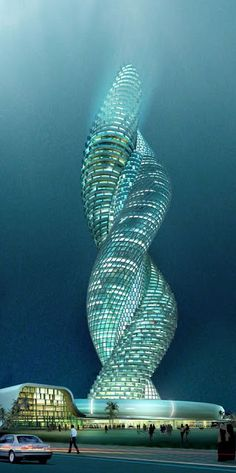Snake Tower, Kuwait... wow