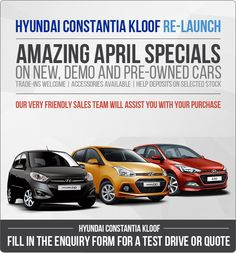Amazing April Specials. New, Used and Demo Cars