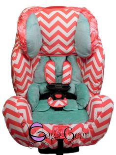 BRISTOL Collection From Gagababygear On An Evenflo Symphony 65 Gaga Baby Gear Toddler Car Seat Covers