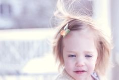 On @Danielle Burkleo 's blog, take heart: her daughter wearing hello shiso's clementine clip.