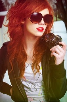 I would love my red hair if it was this vibrant