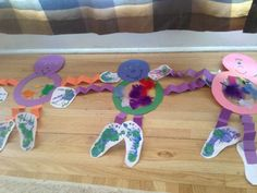 Sensory Monster Project - This is great!  Hand-print and foot-print activity that talks about the different parts of the body and feelings.