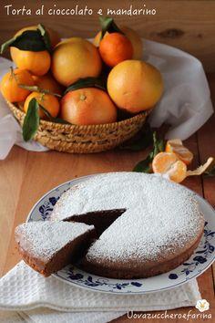 torta cioccolato mandarino ricetta facile