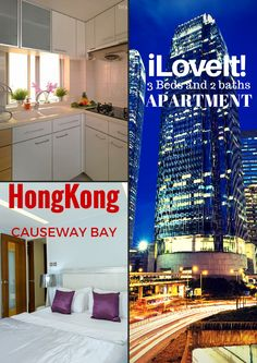 Welcome to our marvelous iLOVEIT Apartment  If you're coming to Hong Kong with the little ones or in a group of friends, then a stuffy hotel room just won't cut it. The Penthouse is just steps from Times Square, Sogo, Hysan Place and Lee Gardens, and surrounded by tons of restaurants and shopping facilities.
