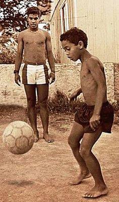 Ronaldinho petit.