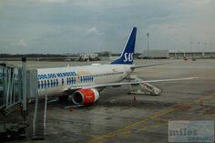 """SAS Boeing 737-800, LN-RCY, """"Eilige Viking"""", Erstflug 25.01.2001 - Check more at https://www.miles-around.de/trip-reports/economy-class/anreise-nach-oslo-mit-sas/,  #Boeing #Boeing737-800 #MUC #OSL #SASGo #SASScandinavianAirlines #Trip-Report"""