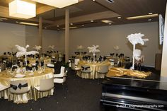 """Puttin on the Ritz"" dinner in Social Hall"