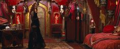 Moulin Rouge. bedroom/dressing room (screen)