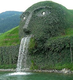 At the HQ of Swarovski (Kristallwelten) in Wattens, Austria . love Swarovski crystal, must go, definitely must! Places Around The World, Around The Worlds, Beautiful World, Beautiful Places, Bad Gastein, Les Cascades, Innsbruck, Wonders Of The World, Places To See