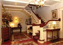 Grand entry way to Berry Manor Inn