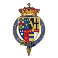 Coat of arms of Sir Henry Clifford, 1st Earl of Cumberland.