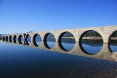 タウシュベツ橋梁/北海道