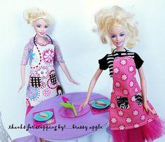 Itty bitty Apron Tutorial…….for dolls