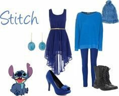 Summer and winter outfits for Stitch :)