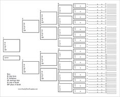 Blank Family Tree Template – 31+ Free Word, PDF Documents Download ...