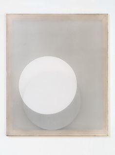 JAROMÍR NOVOTNÝ Untitled, 2015 Acrylic and oil on synthetic organza, cardboard insert 23 3/5 × 19 7/10 in 60 × 50 cm