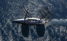 Cauta Super Sailing Yacht by Timur Bozca.
