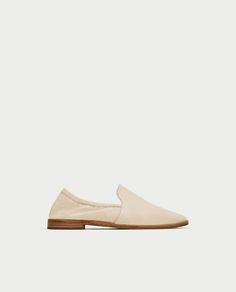SOFT LEATHER SLIPPERS-Flat Shoes-SHOES-WOMAN | ZARA United States