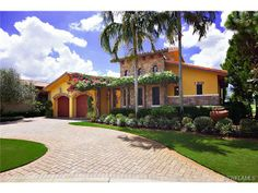 Listing # 213502475 Price: $1,695,000  16719 PISTOIA WAY NAPLES, Fl 34110  One of the most desirable lots and custom homes in Talis Park (previously Tuscany Reserve). This exquisite residence overlooks the 10th hole of the Greg Norman/Pete Dye award winning golf course. Built with attention to detail by WCI, this home features Travertine tile, grand ceiling heights, Viking appliances including a six burner gas cook top and two dishwashers.
